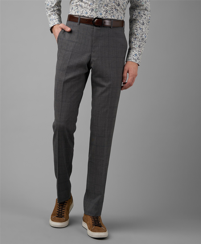 Костюмные брюки HENDERSON TR1-0174-N LGREY фото