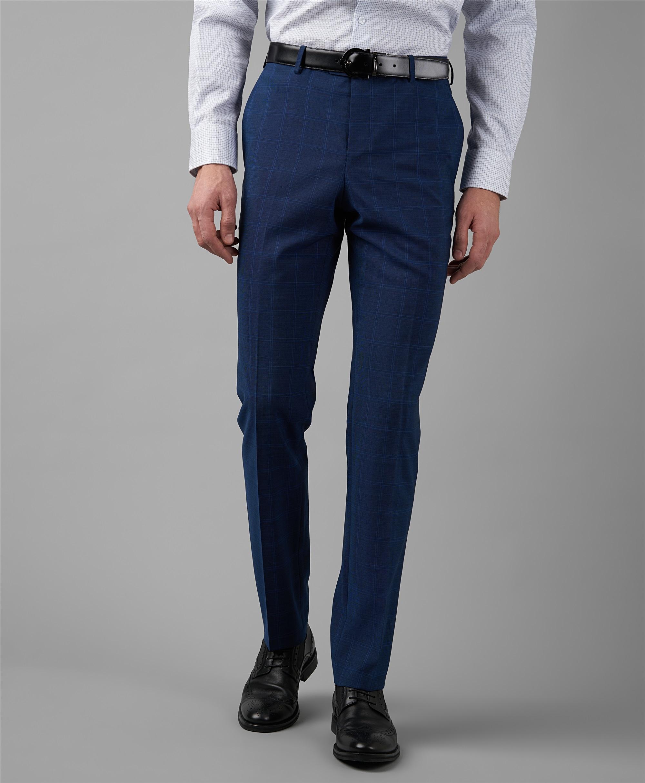Костюмные брюки HENDERSON TR1-0178-N NAVY фото