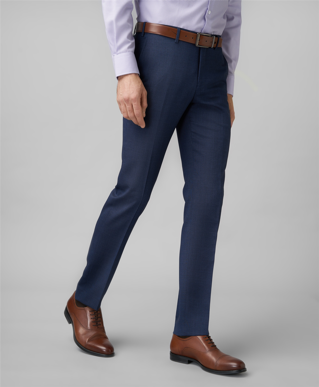Костюмные брюки HENDERSON TR1-0181-N NAVY фото