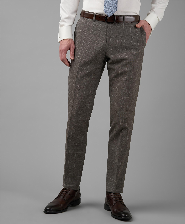 Костюмные брюки HENDERSON TR1-0184-N BEIGE фото