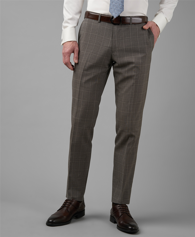 Костюмные брюки HENDERSON TR1-0184-SS BEIGE фото