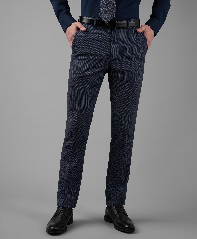 Костюмные брюки HENDERSON TR1-0186-N LNAVY фото