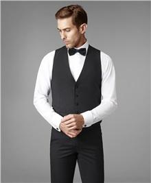 фото жилета костюмного HENDERSON, цвет черный, VC1-0154-N BLACK a50e8fd3fba
